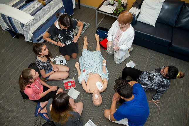 Adelphi University Inspires High School Students to Become Nurses through Pre-College Summer Program