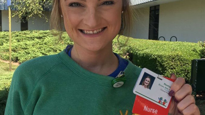 Nurse of the Week: Montana Brown, Childhood Cancer Survivor, Returns to Hospital as Nurse 20 Years Later