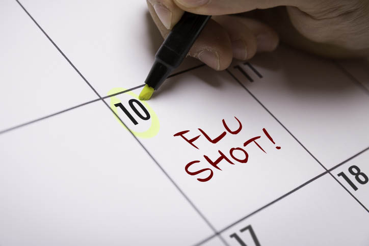 Percent Of American Adults Skipping Flu Vaccine This Year
